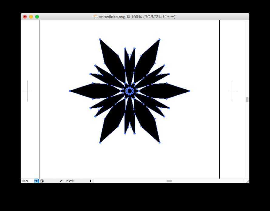 Final snowflake design
